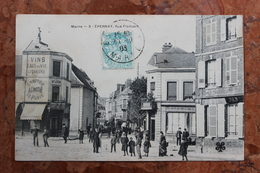 EPERNAY (51) - RUE FLODOART - Epernay