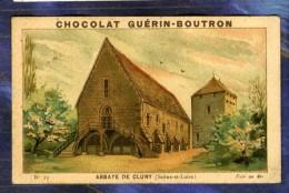 CHROMO GUERIN-BOUTRON Monument 23 Abbaye De Cluny Abbey Vieillemard 1890' - Guérin-Boutron