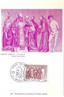 Tiziano Vecellio-I Sei Santi, 13.5.1976, L.300 (2scans) - Cartes-Maximum (CM)