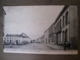 Cpa Tessenderloo Tessenderlo - Markt En Diesterschestraat - Uit J. Verachtert En J. Feyen - Tessenderlo