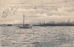 ¤¤   -   ILES SAINT-PIERRE-et-MIQUELON  -  Saint-Pierre  - Vue Du Barachois & Des Goëlettes De Pêche  -   ¤¤ - Saint-Pierre-et-Miquelon