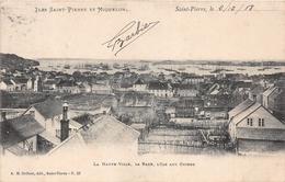 ¤¤   -   ILES SAINT-PIERRE-et-MIQUELON  -  Saint-Pierre  -  La Haute-Ville  -  La Rade , L'Ile Aux Chiens  -   ¤¤ - Saint-Pierre-et-Miquelon