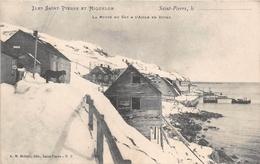¤¤   -   ILES SAINT-PIERRE-et-MIQUELON  -  Saint-Pierre  -  La Route Du Cap à L'Aigle En Hiver  -   ¤¤ - Saint-Pierre-et-Miquelon