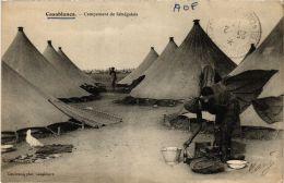 CPA Casablanca Campement De Senegalais MAROC (689250) - Casablanca