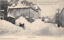 ¤¤   -   ILES SAINT-PIERRE-et-MIQUELON  -  Saint-Pierre  -  Sous La Neige  -   ¤¤ - Saint-Pierre-et-Miquelon