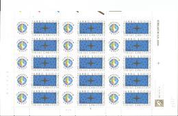OCB 2967 Postfris Zonder Scharnier ** Volledig Vel ( Plaat 5 ) - Hojas Completas