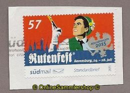 L13) Privatpost - Südmail - Rutenfest - 57 - Privatpost