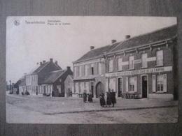 Cpa Tessenderloo Tessenderlo  - Statieplaats Place De La Station - Nels - Uitg Gebroeders Theys - Tessenderlo