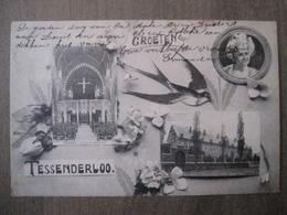 Cpa Tessenderloo Tessenderlo  - Groeten Uit Tessenderloo - Uitg J. Verachtert En J. Feyen - Tessenderlo