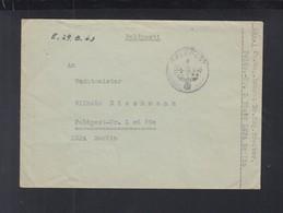 Dt. Reich Feldpost L 36018 Norwegen Mit Inhalt - Duitsland