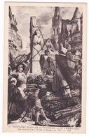 CPA Jules Lenepveu (1819-1898), Jeanne D'Arc Sur Le Bûcher Place Du Vieux Marché à Rouen (1886-1890), Panthéon De Paris. - Histoire