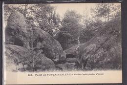 FRANCE  FORET DE FONTAINEBLEAU ROCHER LAPITO   SOUS ETUI PLASTIQUE NEUVE - Fontainebleau