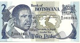 Botswama - 2 Pula 1982 - Botswana