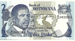 Botswama - 2 Pula 1982, - Botswana