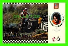 SPORT MOTO - JIM LEE POMEROY (U.S.A.) - SERIE MOTOCROSS No 15 - BULTACO, 97kg, 34c,v, - - Sport Moto