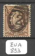 EUA Scott 209  YT 55B Ob - 1847-99 General Issues