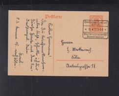 Belgien Dt. Reich GSK 1919 Postamt Spa Waffenstillstandskommission - Besetzungen 1914-18