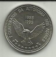 100 Escudos 1995 1º Cent. Autonomia Açores/Portugal - Portugal