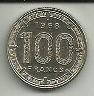 100 Francs 1968 Camarões - Cameroun