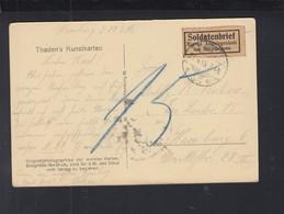 AK Estebrügge Soldatenbrief 1918 - Allemagne