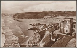 Droskyn Hotel And Point, Perranporth, Cornwall, C.1930s - RP Postcard - Other