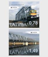 Letland / Latvia - Postfris / MNH - Complete Set Europa, Bruggen 2018 - Letland