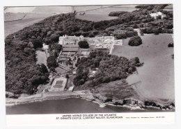 AL02 United World College Of The Atlantic, St. Donats Castle, Llantwit Major, Glamorgen - RPPC - Glamorgan