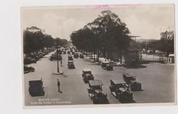 Buenos Aires Avenida Alvear E Hipodromo, Argentina - F.p. Fotografica - Anni '1920 - Argentina