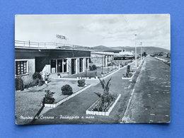 Cartolina Marina Di Carrara - Passeggiata A Mare - 1959 - Massa
