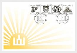Litouwen / Lithuania - Postfris / MNH - FDC Symbolen 2018 - Lithuania
