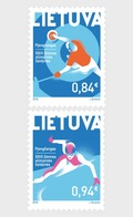 Litouwen / Lithuania - Postfris / MNH - Complete Set Olympische Spelen 2018 - Lithuania