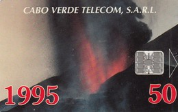 11989 - SCHEDA TELEFONICA - CAPO VERDE - USATA - Cap Vert