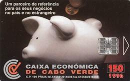 11990 - SCHEDA TELEFONICA - CAPO VERDE - USATA - Cape Verde