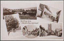 Multiview, Greetings From Moretonhampstead, Devon, C.1920 - Chapman RP Postcard - England