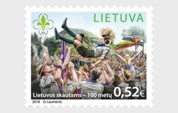 Litouwen / Lithuania - Postfris / MNH - 100 Jaar Scouts 2018 - Litouwen