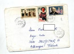 Lettre Cachet Amboise Sur Sangnier Accueil Remy - Marcophilie (Lettres)