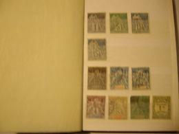 FRANCE Colonies  Collection  Petit Album 16 Pages - Collections (en Albums)