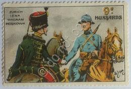 Erinnofilia - Chiudilettera - Francia France - 9e Régiment De Hussards - XIX Sec - Italia
