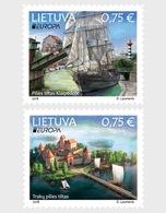Litouwen / Lithuania - Postfris / MNH - Complete Set Europa, Bruggen 2018 - Litouwen