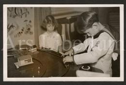 Postcard / ROYALTY / Belgium / België / Prins Albert / Prince Albert / Prince Baudouin / Prins Boudewijn / Treinen - Games & Toys