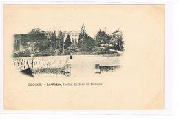 CPA (49) Cholet. Précurseur Jardin Du Mail .Tribunal.  (053) - Cholet