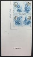 MONACO N° 2250 Les 4 évangelistes Non Dentelé Essai Imperf Color Proof Superbe **, Cdf Et RARE ! - Monaco
