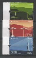 Portugal / Madeira / Acores   2018 , EUROPA CEPT Pontes  - Postfrisch / MNH / (**) - 1910-... Republiek