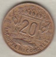 ARCHIPEL DES COMORES. REPUBIQUE FRANCAISE. 20 FRANCS 1964 - Comoros