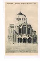 CPA (49) Cholet. Maquette église Sacré Coeur. M.Laurentin .  (065) - Cholet