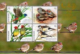 Australia - 2018 - Finches - Canberra Stamp Show - Mint Souvenir Sheet - 2010-... Elizabeth II