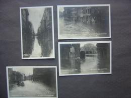 Lot De 4 Cartes -  LIEGE - Inondations De 1925 - 1926 - Liege