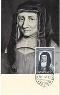 C.Max.  S.Luisa De Marillac, 6.1. 1961, L.70 (2scans) - Cartes-Maximum (CM)