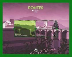 Portugal /Acores 2018 , EUROPA CEPT Pontes  - Block - Postfrisch / MNH / (**) - 2018