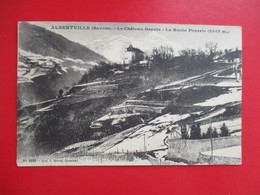 CPA 73 ALBERTVILLE LE CHATEAU GRAVIN LA ROCHE POURRIE - Albertville